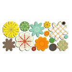 Sassafras Lass - Paper Whimsies - Die Cut Blossoms - Wild Flower