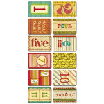Sassafras Lass - Paper Whimsies - Mini Playing Cards - Tailored Deck, CLEARANCE