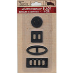 7 Gypsies - Assorted Buckles - Black, CLEARANCE