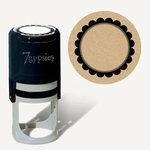 7 Gypsies - 97% Complete - Certifiable Stamp - Flower Round - Seal Stamp