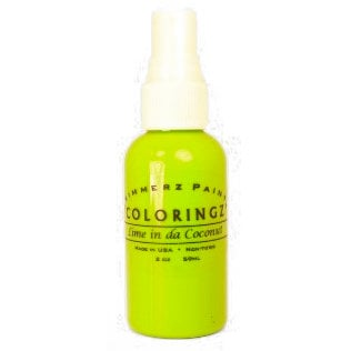 Shimmerz - Coloringz - Pigment Mist Spray - 1 Ounce Bottle - Lime in da Coconut