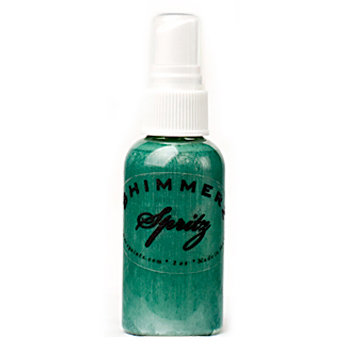 Shimmerz - Spritz - Iridescent Mist Spray - 2 Ounce Bottle - 4 Leaf Clover