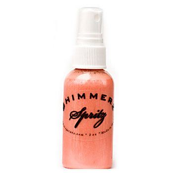 Shimmerz - Spritz - Iridescent Mist Spray - 2 Ounce Bottle - Mango Madness