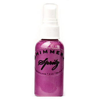 Shimmerz - Spritz - Iridescent Mist Spray - 2 Ounce Bottle - Plum Pudding