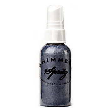 Shimmerz - Spritz - Iridescent Mist Spray - 2 Ounce Bottle - Rock-a-fella Blue