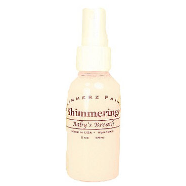 Shimmerz - Shimmeringz - Non-Pigmented Iridescent Mist Spray - 2 Ounce Bottle - Baby's Breath
