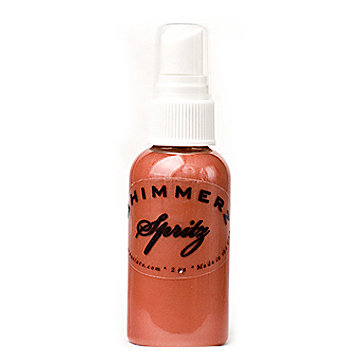 Shimmerz - Spritz - Iridescent Mist Spray - 2 Ounce Bottle - Terra Cotta