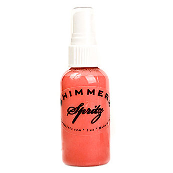 Shimmerz - Spritz - Iridescent Mist Spray - 1 Ounce Bottle - Caribbean Sunset