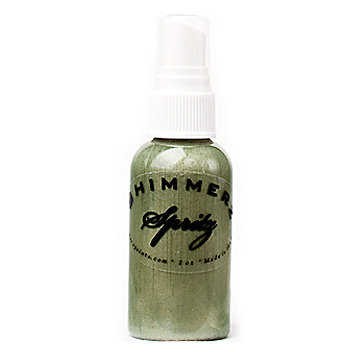 Shimmerz - Spritz - Iridescent Mist Spray - 1 Ounce Bottle - Bamboo Leaf