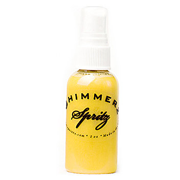 Shimmerz - Spritz - Iridescent Mist Spray - 1 Ounce Bottle - Chick-a-dee