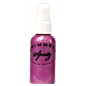 Shimmerz - Spritz - Iridescent Mist Spray - 1 Ounce Bottle - Plum Pudding