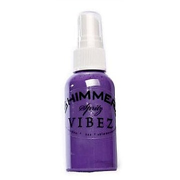 Shimmerz - Vibez - Iridescent Mist Spray - Bold - 2 Ounce Bottle - Princess