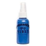 Shimmerz - Vibez - Iridescent Mist Spray - Bold - 1 Ounce Bottle - Blue Jeans