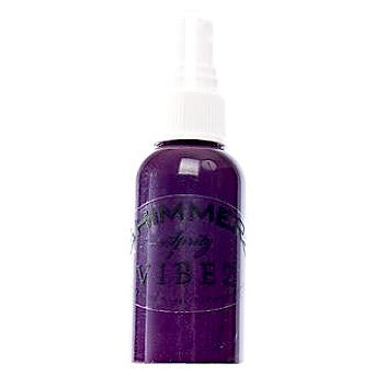Shimmerz - Vibez - Iridescent Mist Spray - Bold - 1 Ounce Bottle - Grape Escape