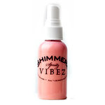 Shimmerz - Vibez - Iridescent Mist Spray - Bold - 1 Ounce Bottle - Pop Art Pink