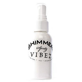 Shimmerz - Vibez - Iridescent Mist Spray - Bold - 1 Ounce Bottle - Snow Storm
