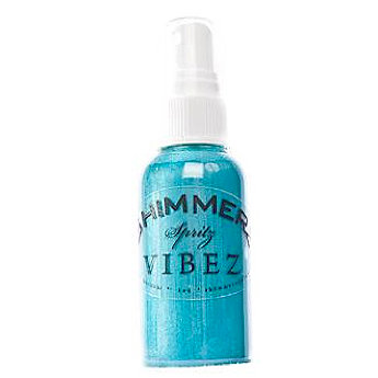 Shimmerz - Vibez - Iridescent Mist Spray - Bold - 2 Ounce Bottle - Jeni B Bleu