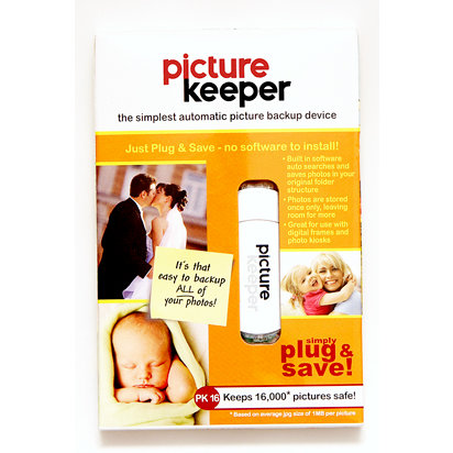 Picture Keeper - Automatic Picture Backup Device - 16GB