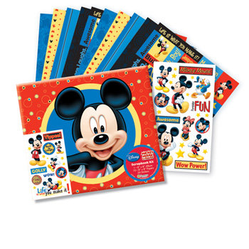 Sandylion - Disney Collection - 8x8 Album Kit - Mickey, CLEARANCE