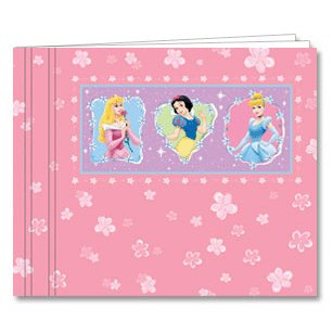 Princess Embossed Scrapbook Album