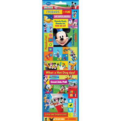 Sandylion - Disney - Mickey Mouse Club House Collection - Cardstock Stickers - Mickey Mouse Clubhouse Stickers, CLEARANCE