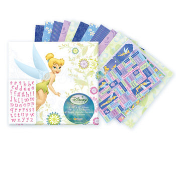 Sandylion - Disney Fairies Collection - 12x12 Album Kit - Disney Fairies, CLEARANCE