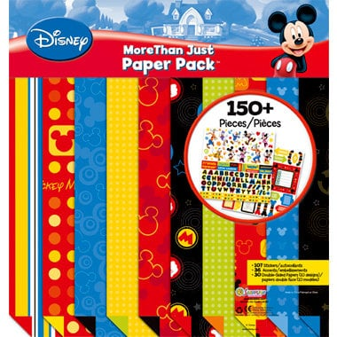 Sandylion - Disney Mickey Collection - 12 x 12 More Than Just Paper Pack - Funtastic Friends