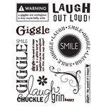 Sandylion - Kelly Panacci Collection - Clear Acrylic Stamps - Giggle