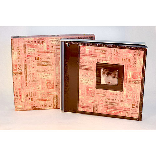 Sandylion - Kelly Panacci - Embossed Scrapbook 12 x 12 - You-Nique
