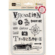 Sandylion - Kelly Panacci Collection - Clear Stamps - Are We There Yet, CLEARANCE