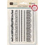 Sandylion - Kelly Panacci Collection - Clear Stamps - Vintage Borders, CLEARANCE