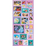 Sandylion - Disney - Princess - Postage Stamp Stickers, CLEARANCE