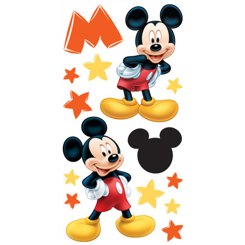 Sandylion - Disney Mickey Collection - Large Essentials - Handmade Stickers - Mickey