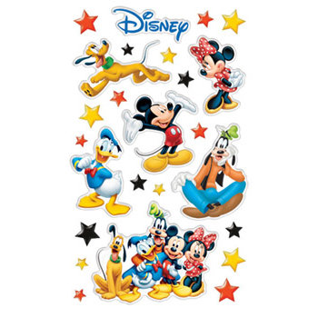 Sandylion - Epoxy Stickers - Mickey - Disney, CLEARANCE