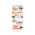 Sandylion - Disney Collection - Stickers - Theme Park Phrases, CLEARANCE