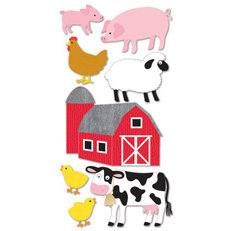 Sandylion - Large Essentials - Handmade Stickers - Farm Animals