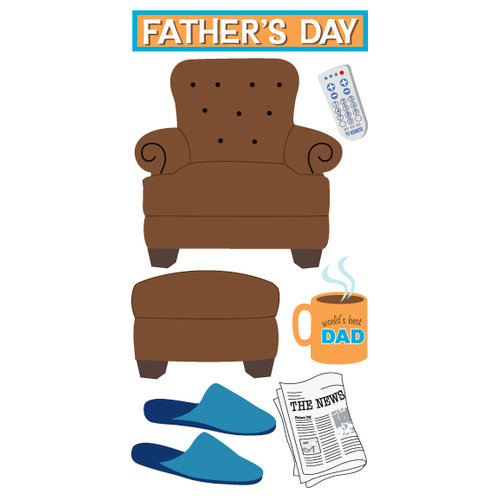 Sandylion - Essentials - Hand Made Stickers - Father's Day - Dad, CLEARANCE