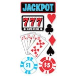 Sandylion - Las Vegas Collection - Large Essentials - Handmade Stickers - Jackpot, CLEARANCE