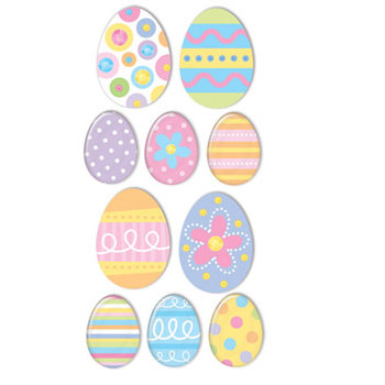Sandylion - Sandylion Essentials - Handmade Stickers - Easter Eggs, CLEARANCE