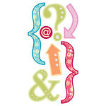 Sandylion - Essentials - Kelly Panacci Collection - Hand Made Stickers - Funtastik Punctuation, CLEARANCE