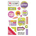 Sandylion - Kelly Panacci - Artsy Collection - Gem Stickers - Artsy