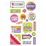 Sandylion - Kelly Panacci - Artsy Collection - Gem Stickers - Artsy