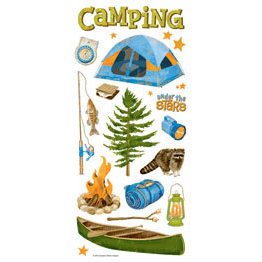 Sandylion - Stickers - Camping Icons