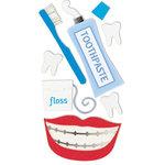 Sandylion - Sandylion Essentials - Handmade Stickers - Tooth Care - Dentist
