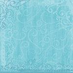 Sandylion - Kelly Panacci - Funtastik Collection - 12x12 Paper - Funtastik Turquoise
