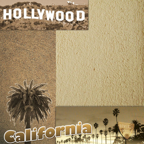 Scrapbook Customs - United States Collection - California - 12 x 12 Paper