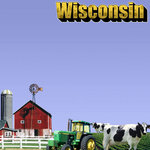 Scrapbook Customs - United States Collection - Wisconsin - 12 x 12 Paper