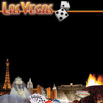 Scrapbook Customs - United States Collection - Nevada - 12 x 12 Paper - Las Vegas