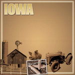 Scrapbook Customs - United States Collection - Iowa - 12 x 12 Paper