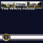 Scrapbook Customs - United States Collection - Washington DC - 12 x 12 Paper - White House